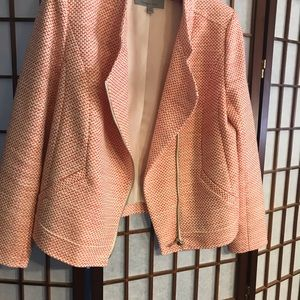 Red and cream jacket Classiques Entier